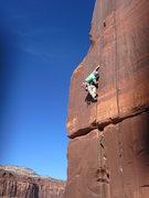 Rock Climbing Photo: Fun hand jams on a perfect fall day.