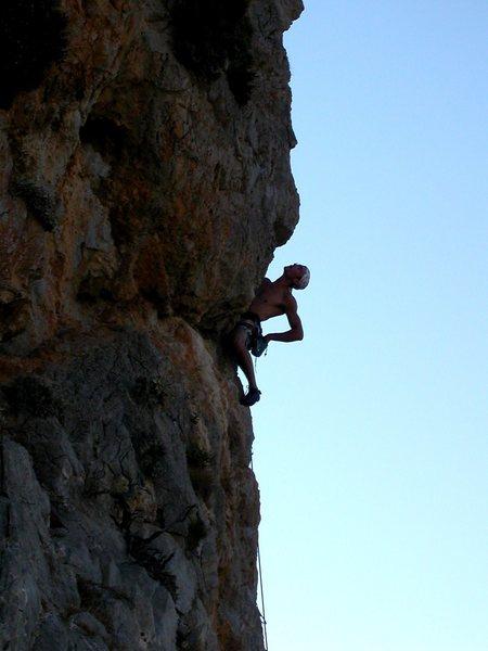 Rock Climbing Photo: Pillar of the Sea at Kasteli