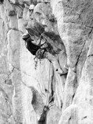 Rock Climbing Photo: Kurt flashing this awesome route!