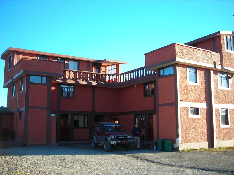 The hostel we stayed at on our way to Cotopaxi.