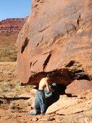 Rock Climbing Photo: Bullet Prof Bolder- Project???