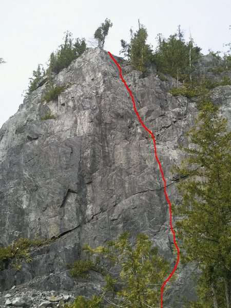 Rock Climbing Photo: Jack The Clipper