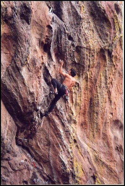 Rock Climbing Photo: On the first ascent.