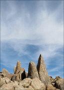 Rock Climbing Photo: Towers. Photo by Blitzo.