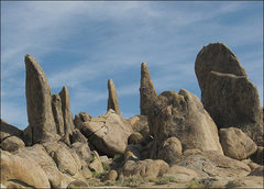 Rock Climbing Photo: Towers-Alabama Hills. Photo by Blitzo.