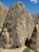 Rock Climbing Photo: Sunday Matinee Wall from the Northwest. Photo by B...