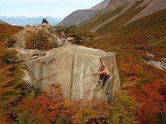 Rock Climbing Photo: Torres del Paine Nat'l Park, Chile