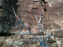 Rock Climbing Photo: Belay on top of pitch 4, Canyon Cruiser, Glenwood ...