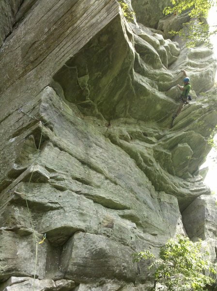 Rock Climbing Photo: Steepness!