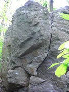 Rock Climbing Photo: Backside.  The crack alone is a fun little problem...