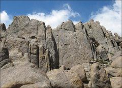 Rock Climbing Photo: Poodle Wall. Photo by Blitzo.