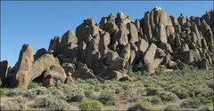 Rock Climbing Photo: The Ghosts. Totally n00bular Tower is at the far l...