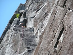 Rock Climbing Photo: Upper town wall just before the sport wall from th...