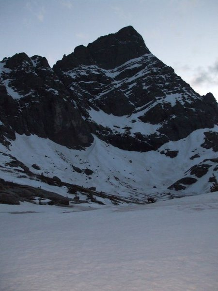 Crestone Needle From South Colony lake