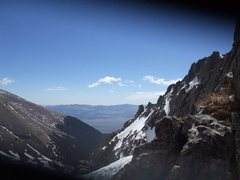 Rock Climbing Photo: Toward Westcliffe from the top of Broken Hand pass