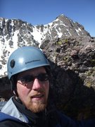 Rock Climbing Photo: Me at the top of the pass