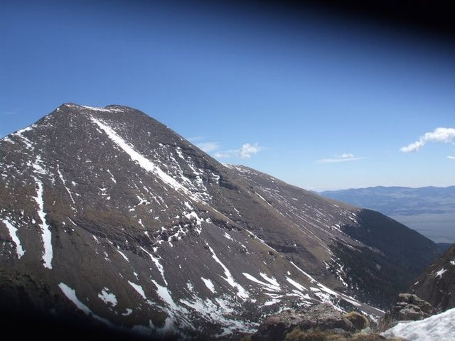 Humbolt Peak from the top of the pass