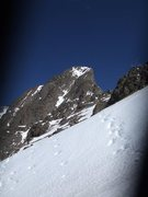 Rock Climbing Photo: Crestone Needle from the top of the pass