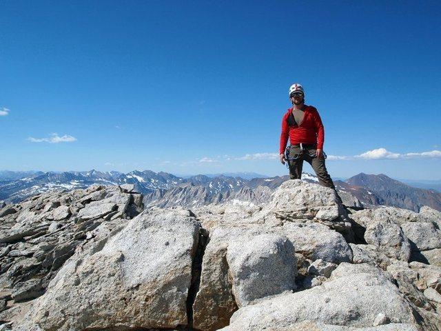 Rock Climbing Photo: summit stance