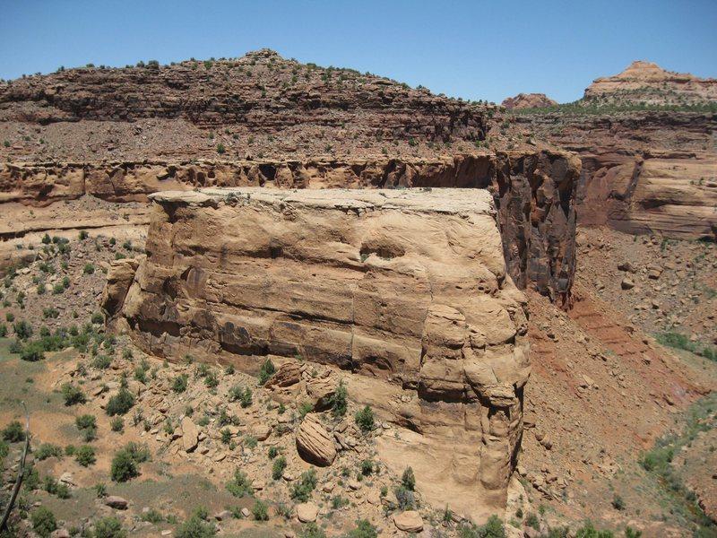 Enchanted Mesa from the rim