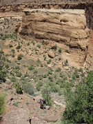 Rock Climbing Photo: The approach.