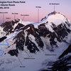 Mt. Waddington, Bravo Glacier Route