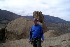Top of Helen's Dome, South Platte, Colorado.