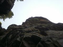 Rock Climbing Photo: Super wild position for how easy it is....