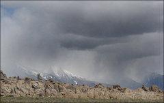 Rock Climbing Photo: Storm-Alabama Hills. Photo by Blitzo.