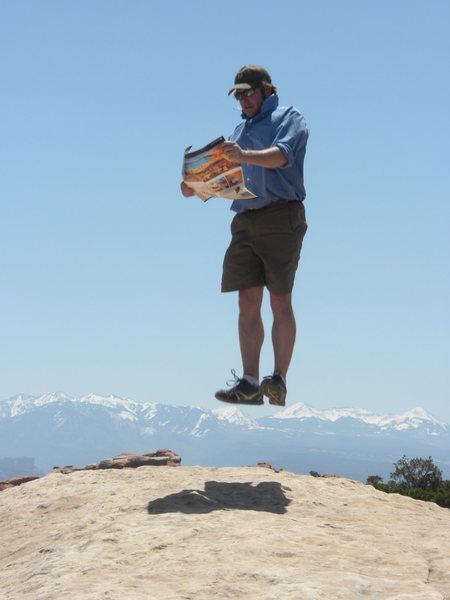 Rock Climbing Photo: La Sals