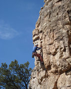 Rock Climbing Photo: C5 / nice on-sight.