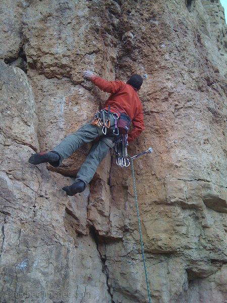 Rock Climbing Photo: C1.