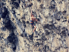 Rock Climbing Photo: Joe Maier on The Fugitive, 13a. Joe's first 5.13! ...