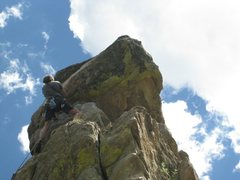 Rock Climbing Photo: Great position - perfect day!