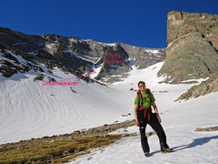 Rock Climbing Photo: Heading into the Mt. Meeker basin, the most notice...