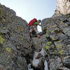 For us that day (06/04/11), this 14-foot narrow chute was the most technical section of the entire route