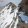 Traverse from ridge (where Dreamweaver pops-out) to Mount Meeker (13,911')
