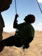 """Rock Climbing Photo: """"Where the heck is the next hold!"""""""