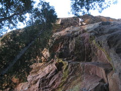 Rock Climbing Photo: Ted Lanzano on his FA.