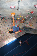 Rock Climbing Photo: J-Star, making it look easy on the long and steep ...