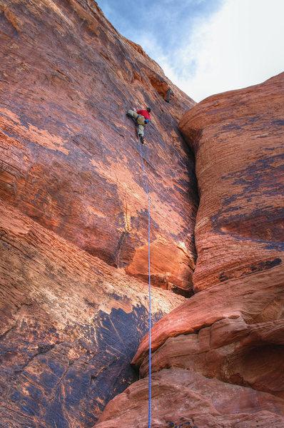 Galloping Gal--crux. Nate Erickson. 5/31/11.