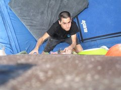Rock Climbing Photo: Plenty of great boulder problems at the BRC too!