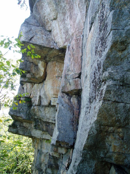 Rock Climbing Photo: Balrog