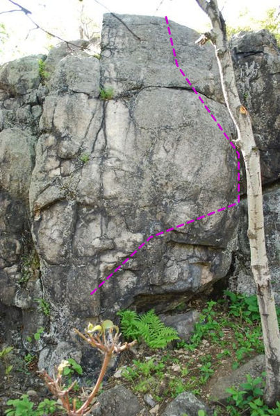 Rock Climbing Photo: Rock Biter.