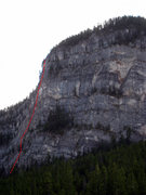 Rock Climbing Photo: Gooseberry is about here and likely trends around ...