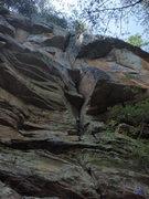 Rock Climbing Photo: Seal Test 5.8