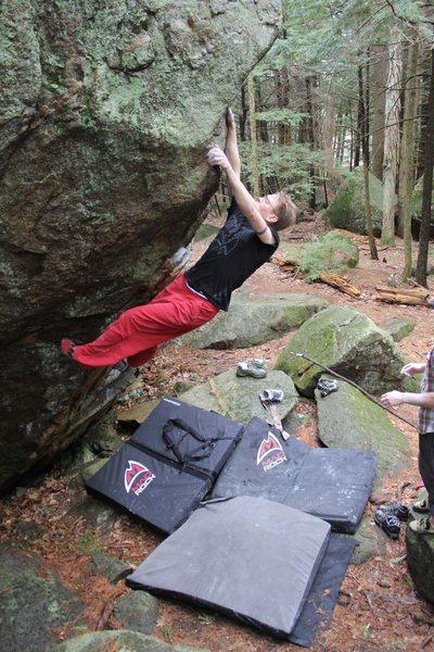 Rock Climbing Photo: Jared on Vintage