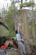 Rock Climbing Photo: Tom Scupp on The Crimp Problem SDS V6