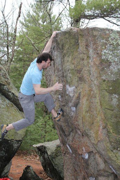 Rock Climbing Photo: Tom Scupp on The Crimp Problem SDS V6