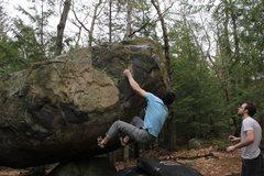Rock Climbing Photo: Tom Scupp on Atlas V6/7